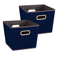 Household Essentials 2-PC Storage Bin Set