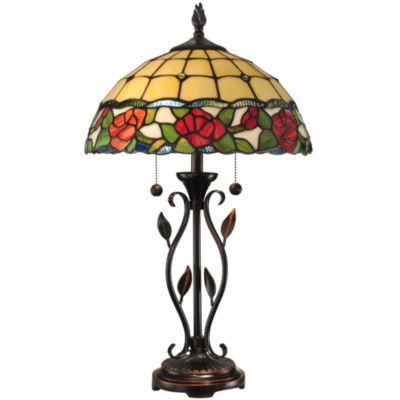Great Dale Tiffany™ Rose Table Lamp