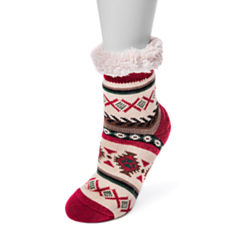 Muk Luks 1 Pair Boot Socks - Womens