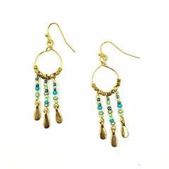 a.n.a Brass Drop Earrings