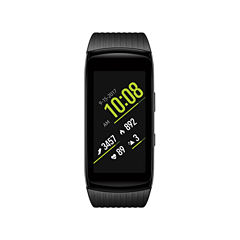 Samsung Gear Fit2 Pro (Large)  Black Smart Watch-Sm-R365nzkaxar