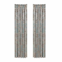 Five Queens Court Abigail Back-Tab Curtain Panel