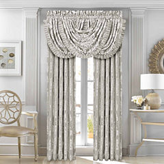 Five Queens Court Carly Back-Tab Curtain Panel