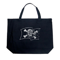 Los Angeles Pop Art Famous Pirate Captains And Ships Tote