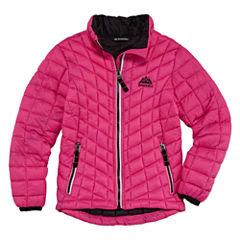 Heavyweight Pattern Puffer Jacket - Girls-Big Kid