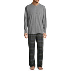 Stafford® Microfleece Pajama Set