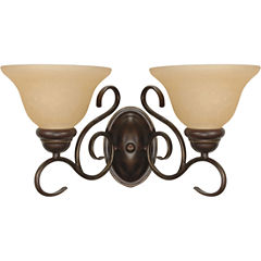 Filament Design 2-Light Sonoma Bronze Bath Vanity