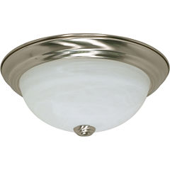 Filament Design 2-Light Brushed Nickel Flush Mount