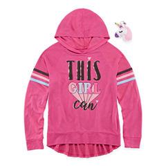 Total Girl Hoodie-Big Kid Girls