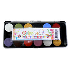 Grim 'tout - 12 Primary Color Face Paints