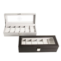 6-Compartment Watch Box