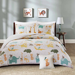 INK+IVY Jacala Cotton 4-pc. Duvet Cover Set