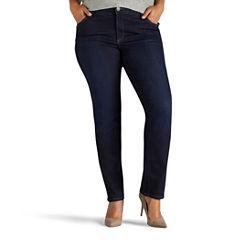 Lee Straight Fit Leg Jeans-Plus