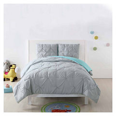 Laura Hart Kids Pleated Reversible Comforter Set