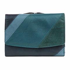 Mundi Tuscana Color Block Flap Indexer Wallet