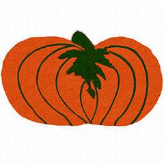 Pumpkin Shape Doormat - 18