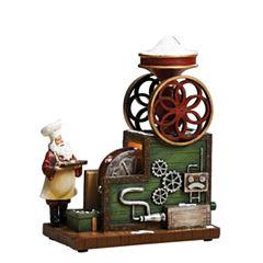Roman Musical LED Santa Candy Machine Figurine