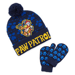 Paw Patrol Beanie and Mitten Set- Boys