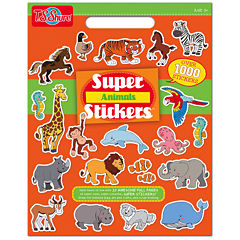 Super Animals Stickers Activity Book