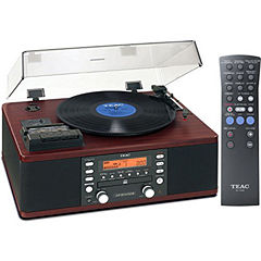 Teac LP-R550USB Turntable with Cassette, Radio and CD Recorder