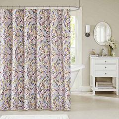 Madison Park Tesimo Cotton Shower Curtain