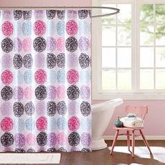 Mi Zone Audrina Microfiber Shower Curtain