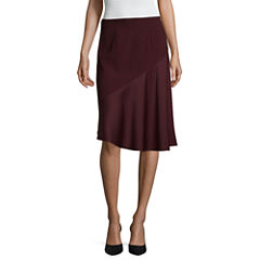 Worthington Asymmetrical Skirt-Talls