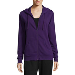 St. John's Bay Active Fleece Jacket-Talls