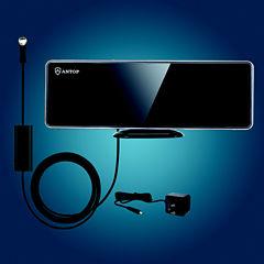 Antop AT-202B Flat-Panel Indoor HDTV Antenna with Smartpass Amplifier
