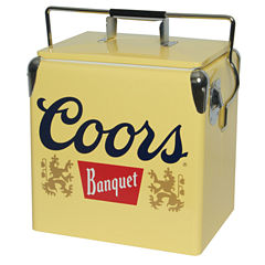 Coors Light Banquet Ice Chest 13 Retro Vintage