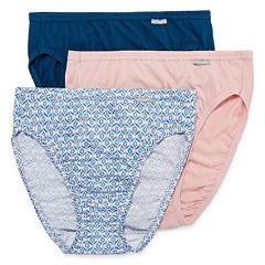 Jockey® Elance® 3-pk. Cotton French-Cut Panties - 1487