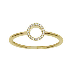 LIMITED QUANTITIES Diamond-Accent 14K Yellow Gold Ring