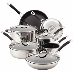 Circulon® Momentum 11-pc. Stainless Steel Nonstick Cookware Set