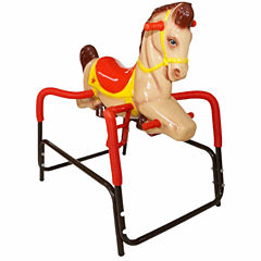 Wonder Horse Palomino Pony Rocking Horse