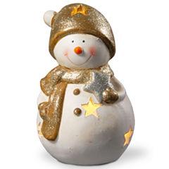 8I LIGHTED HOLIDAY SNOWMAN DÉCOR
