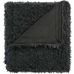 Madison Park Nova Solid Ultra Soft Mohair Throw