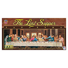Masterpieces Puzzles The Last Supper Panorama Puzzle: 1000 Pcs