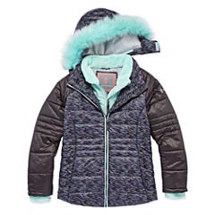 Free Country Girls Midweight Parka-Big Kid