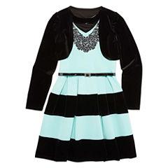 Speechless Sleeveless Skater Dress - Big Kid Girls