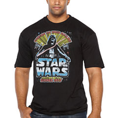Starwars Summer Seventy Short Sleeve Graphic T-Shirt-Big and Tall