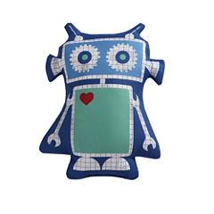 Laura Hart Kids Roboto Throw Pillow
