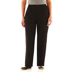 Alfred Dunner® Black Denim Pants - Plus