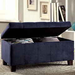 Gwen Contemporary Storage Bench