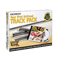 Bachmann Trains Nickel Silver World'S Greatest Hobby First Railroad Track Pack - Ho Scale