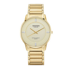 Armitron All Sport Mens Gold Tone Bracelet Watch-20/5246chgp