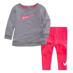 Nike 2-pc. Legging Set-Baby Girls
