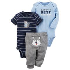 Carter's 3-pc. Layette Set-Baby Boys