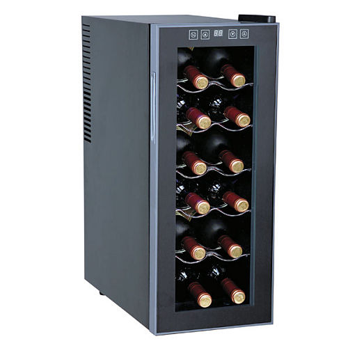 SPT WC-1271: Thermo-Electric Slim Wine Cooler 12-bottles