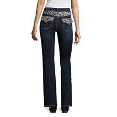 a.n.a Lace Flap Yoke Bootcut Modern Fit Bootcut Jeans