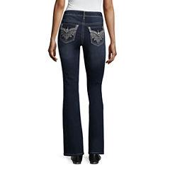 a.n.a Paisley Flap Bootcut Jean